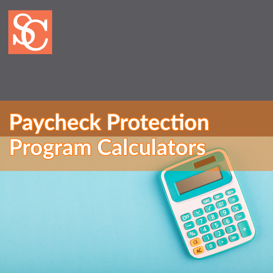 AICPA Paycheck Protection Program Calculators