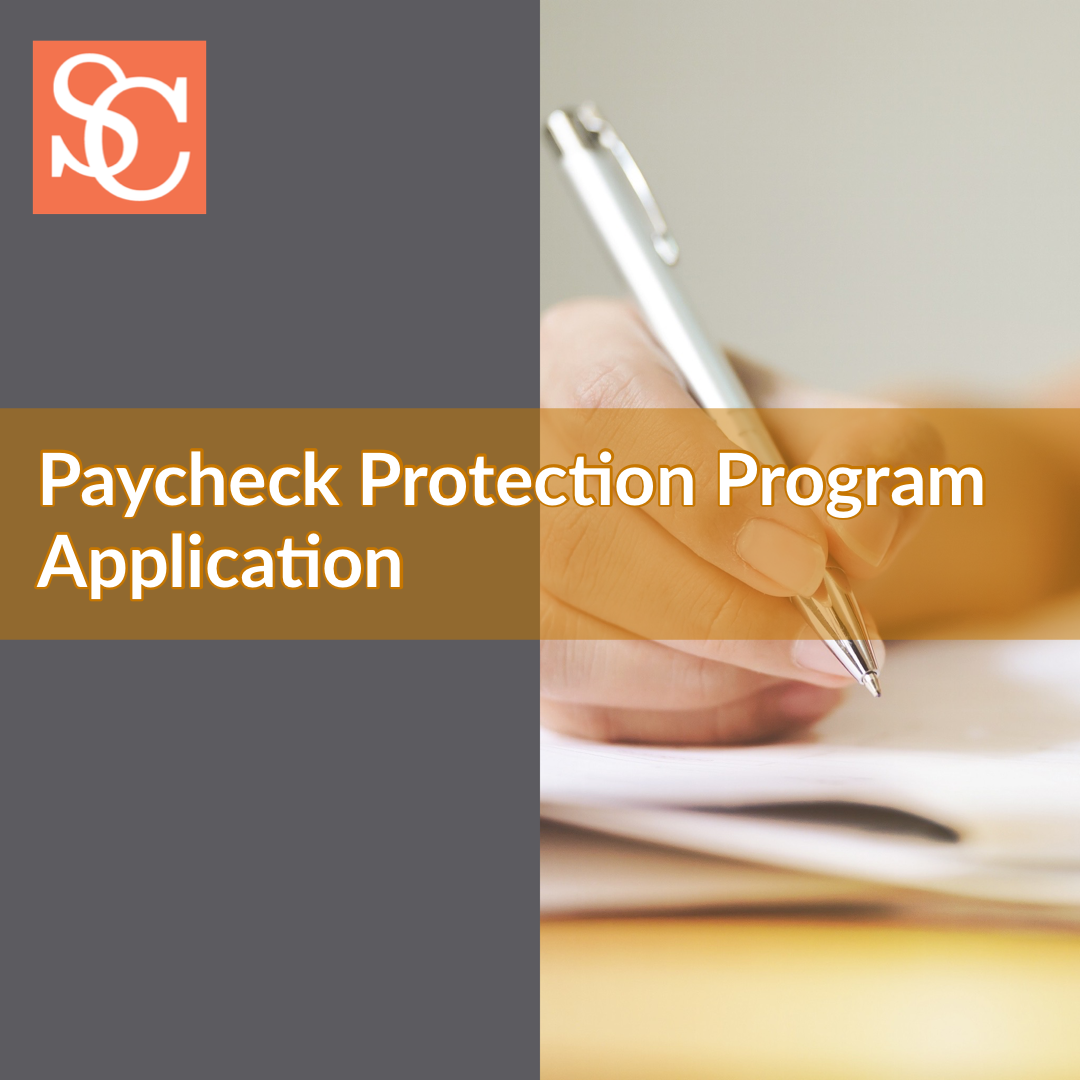 SBA Paycheck Protection Program Application in response to COVID-19 (coronavirus)