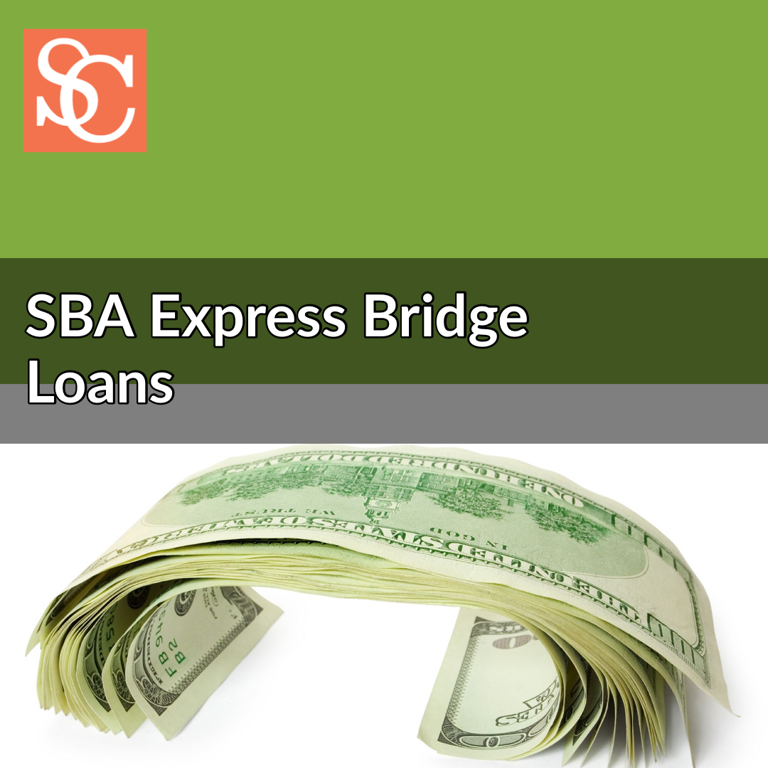 SBA Express Bridge Loans in response to COVID-19 (coronavirus)