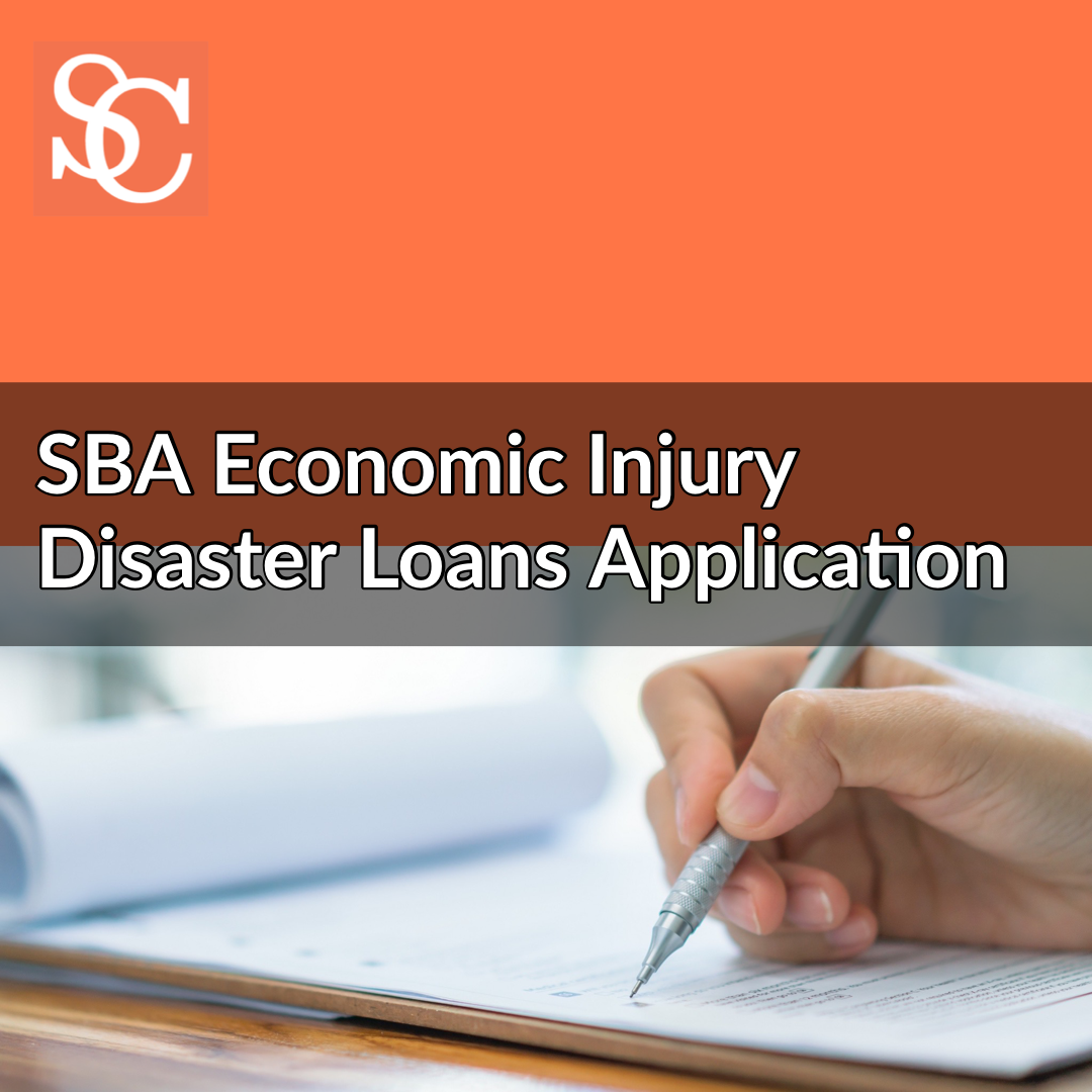 SBA Economic Injury Disaster Loans Application in response in response to COVID-19 (coronavirus)
