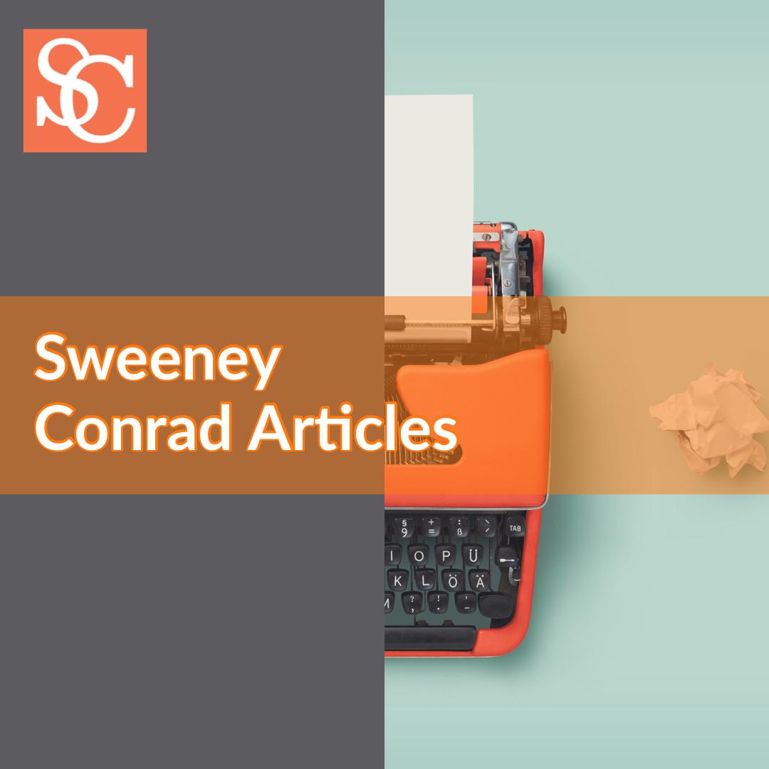 Sweeney Conrad COVID-19 (coronavirus) Related articles