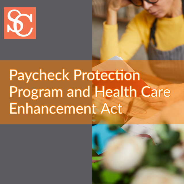 Paycheck Protection Program and Health Care Enhancement Act-2