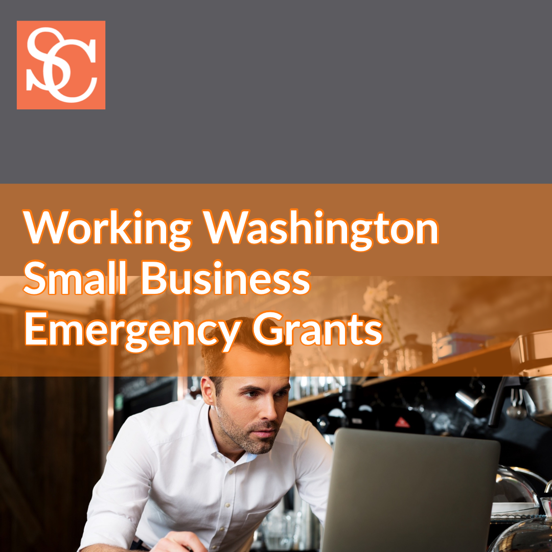 Working Washington Small Business Emergency Grants in response to COVID-19 (coronavirus)